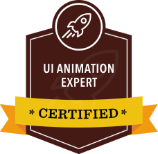UI Animation Expert Certified