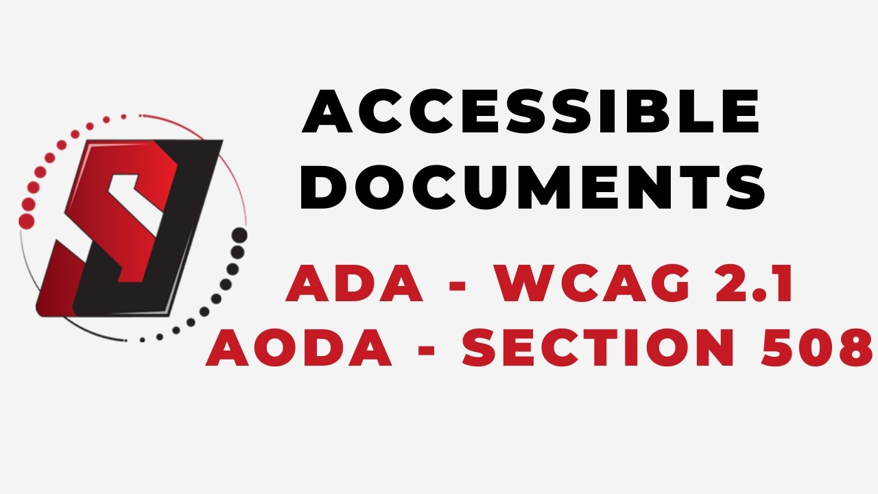 Accessible Documents