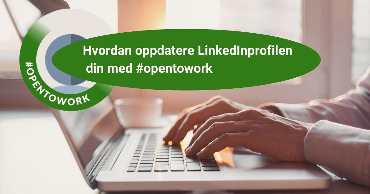 Opentorwork på LinkedIn. Gratis oppskrift med Potensialbygger