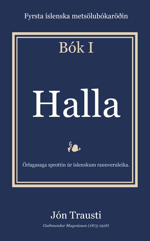 Rafbókin - Halla eftir Jón Trausta