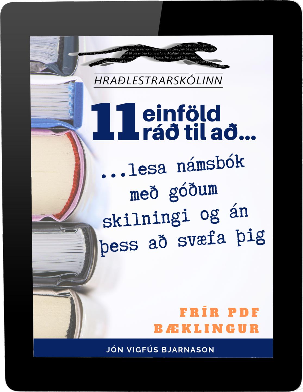 11 einföld ráð til að lesa námsbók með góðum skilningi og án þess að svæfa þig.