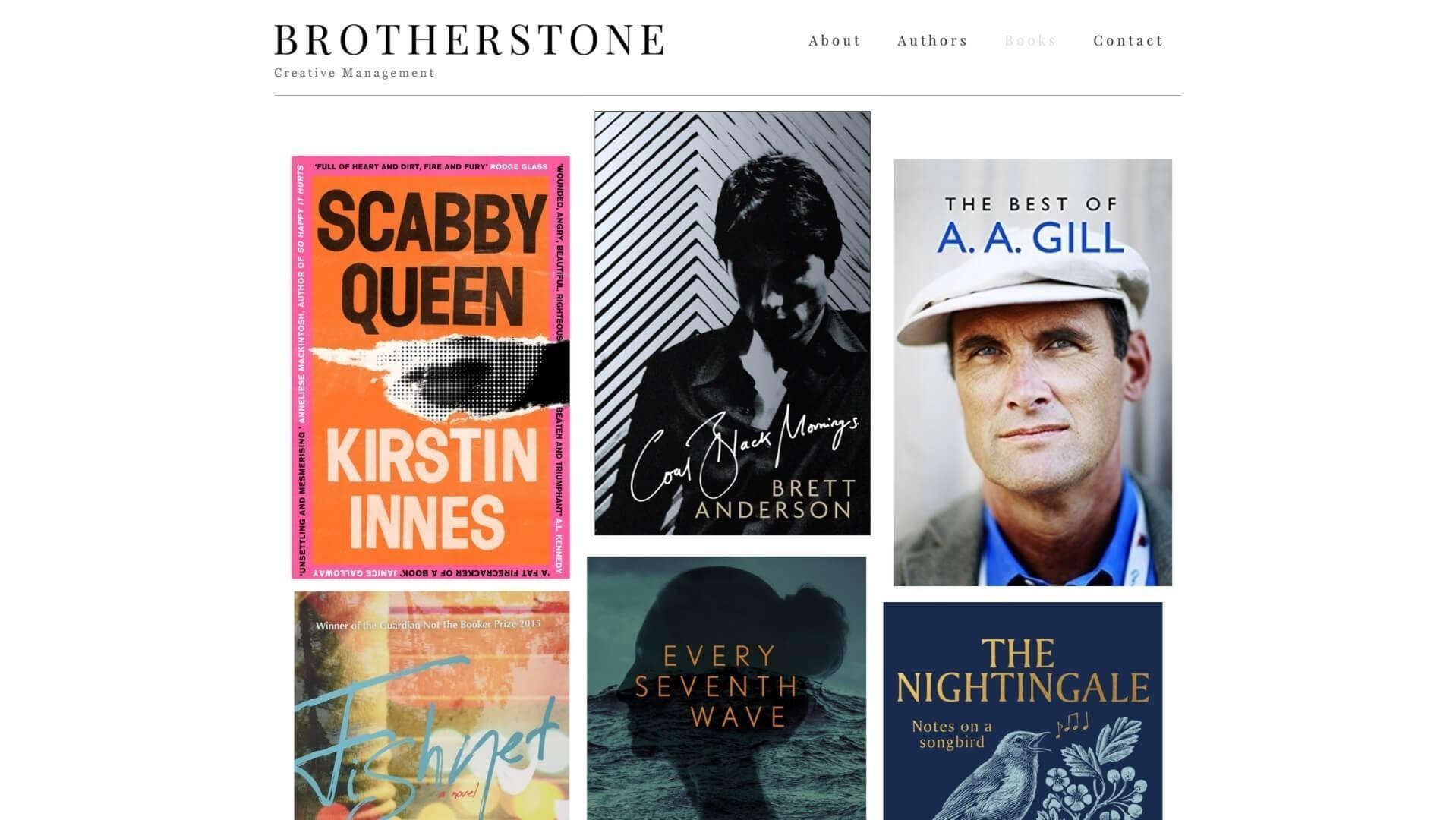 Charles Brotherstone Literary agency