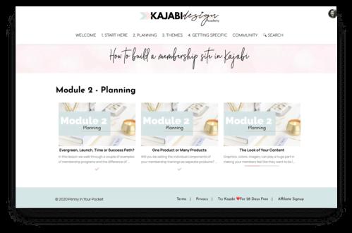 kajabi theme membership