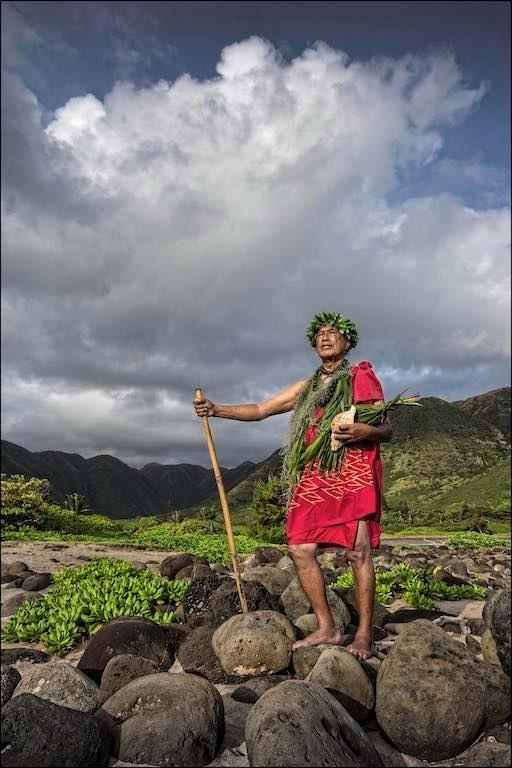 ʻAnakala Pilipo Solatorio in Halawa Valley, Molokai