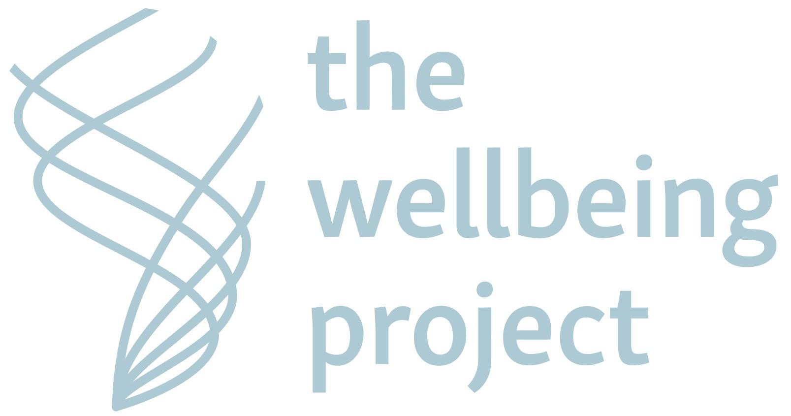 Logo for the Wellbeing Project