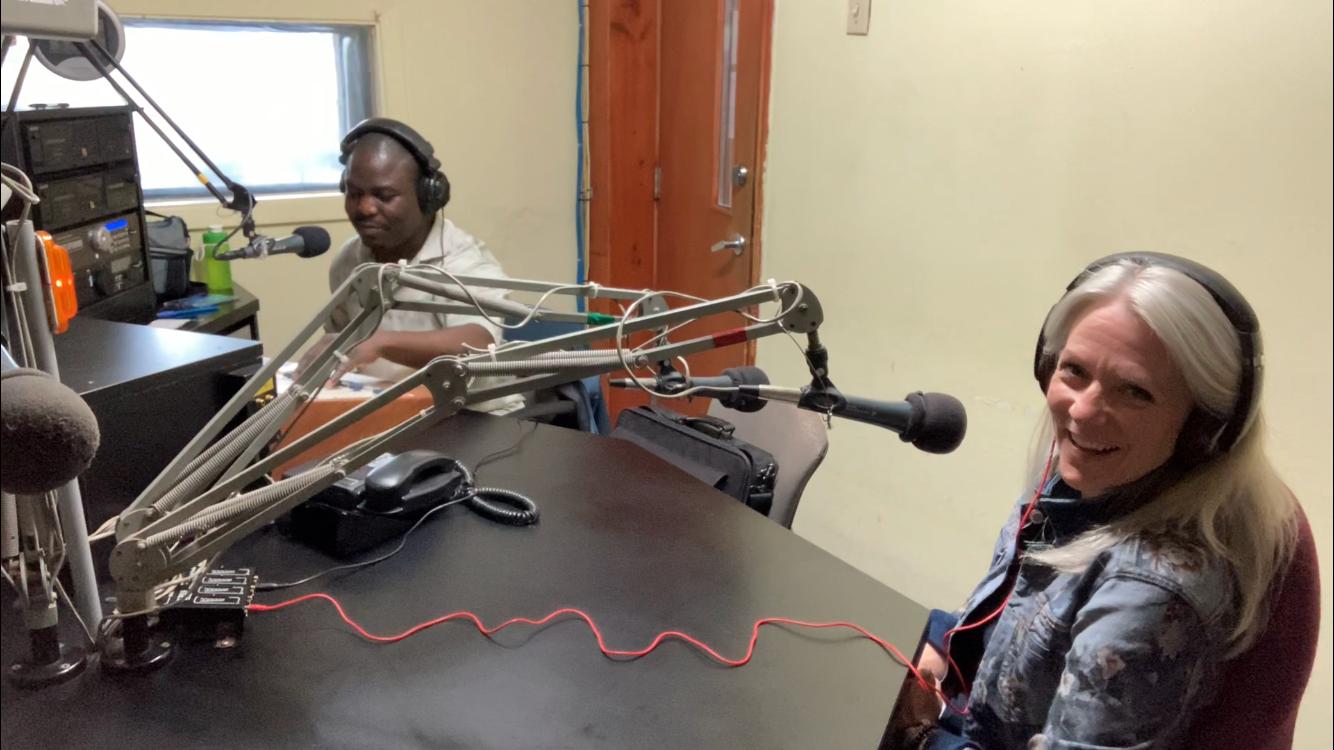 Radio Centre-Ville, je suis interviewée pour parler conciliation travail-famille