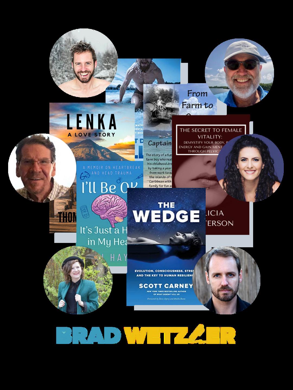 brad wetzler writing coach published author successes