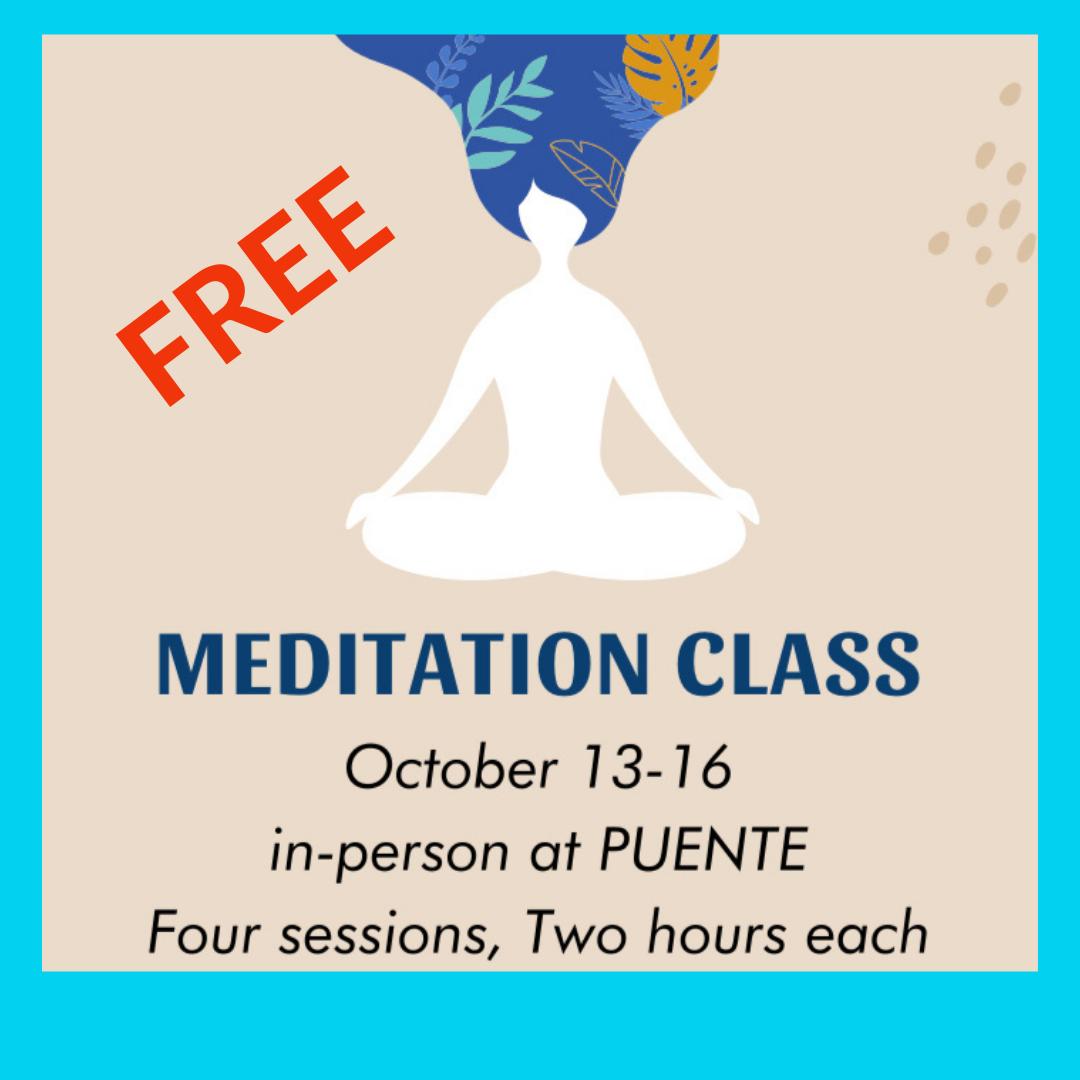 Latinx meditator
