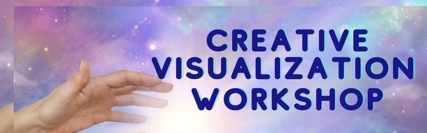 Hands with light for Creative Visualization Workshop