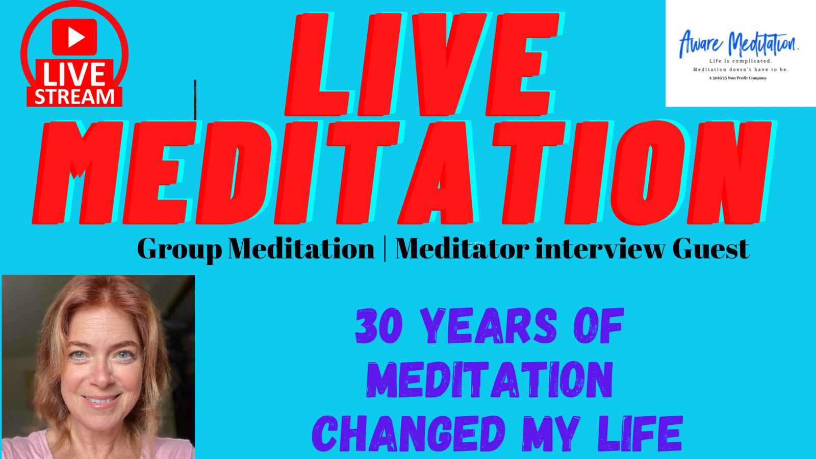 Livestream Group Meditation and Image
