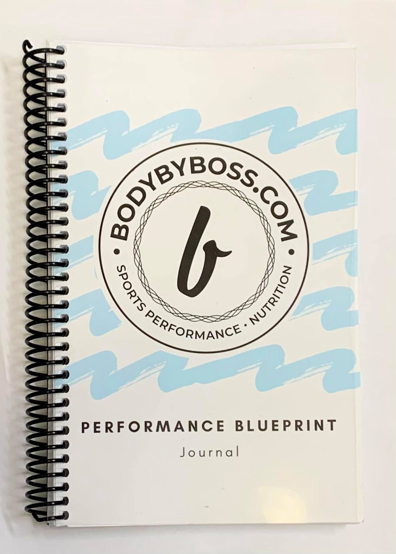 BodyByBoss Performance Journal <br>(228 pages)