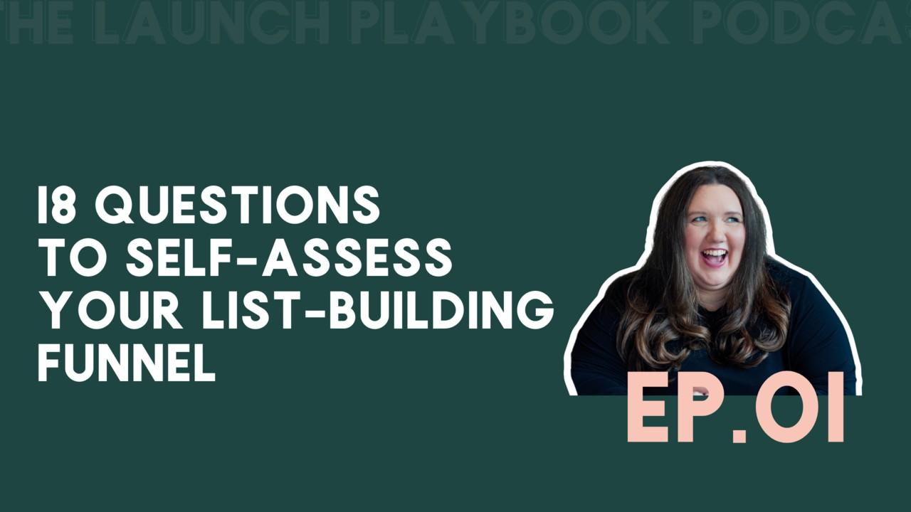 self-assess your list-building funnel
