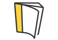 icône guide promotionnel pour courtiers immobilier