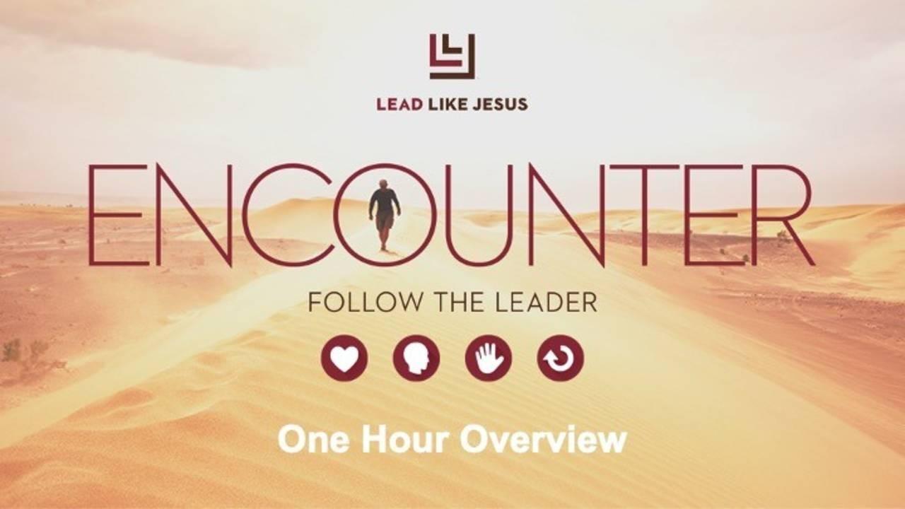 Lead Like Jesus Encounter Cover
