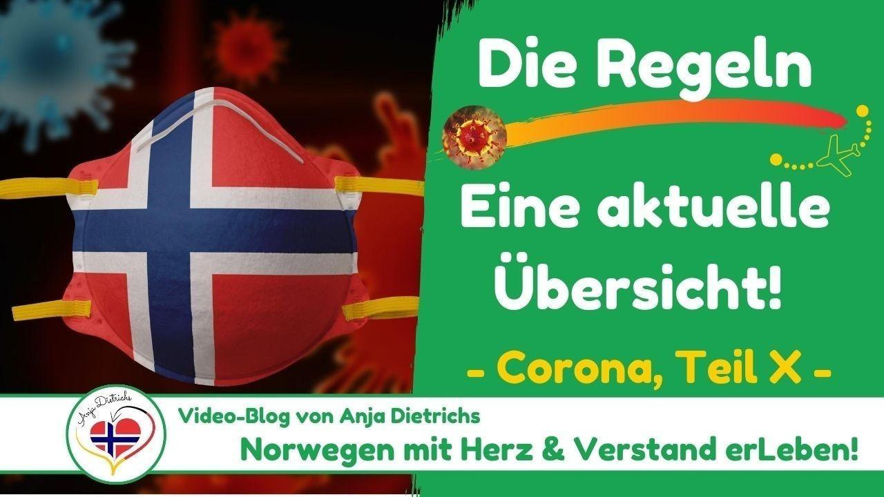 Videoblog vom 30.08.2020 - Corona in Norwegen, Teil 10