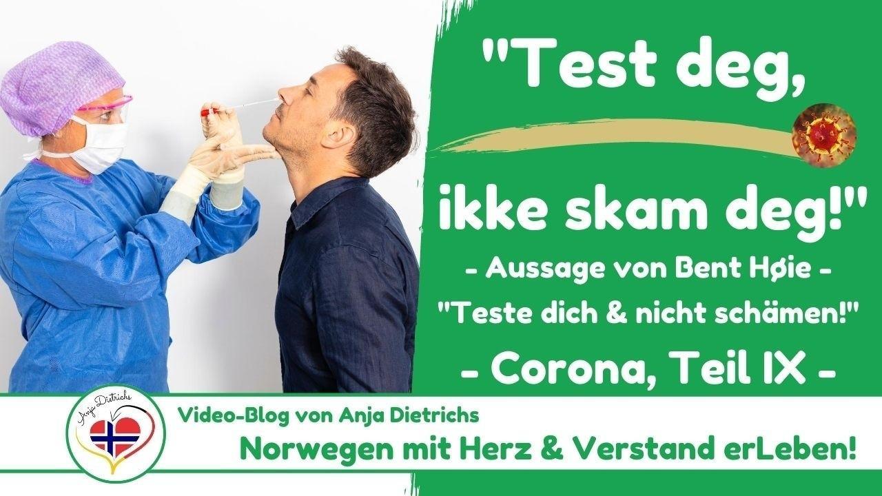Videoblog vom 02.08.2020 - Corona in Norwegen, Teil 9