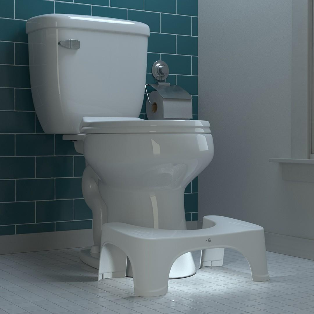 Squatty Potty Nightlight Stool in Moonlight. Stools to help you poo better.