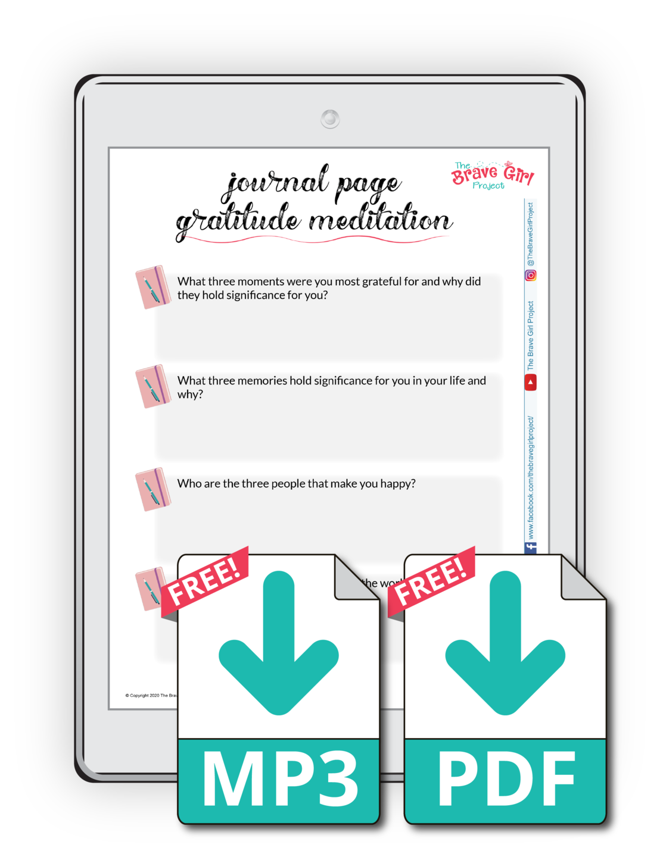 Gratitude Meditation Journal