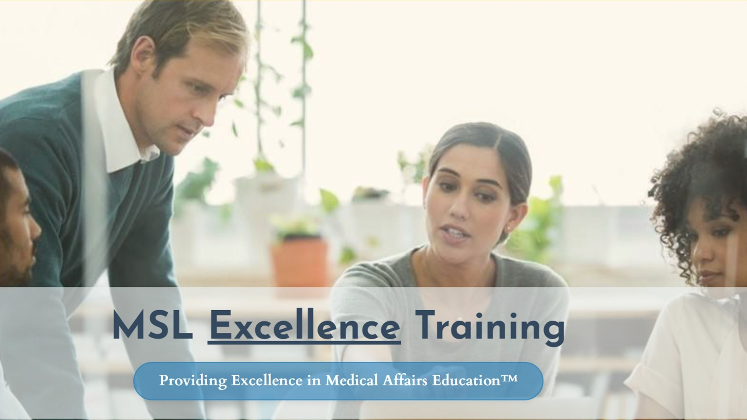 MSL excellence training - from SCIENCE to PHARMA