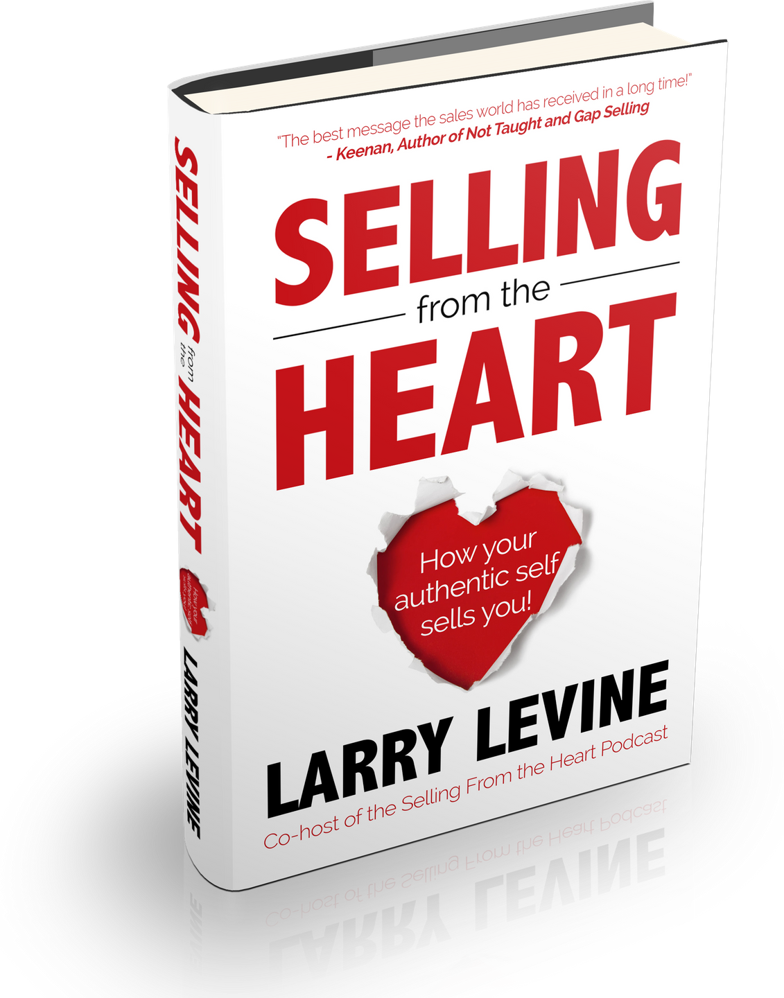 Selling From the Heart Book