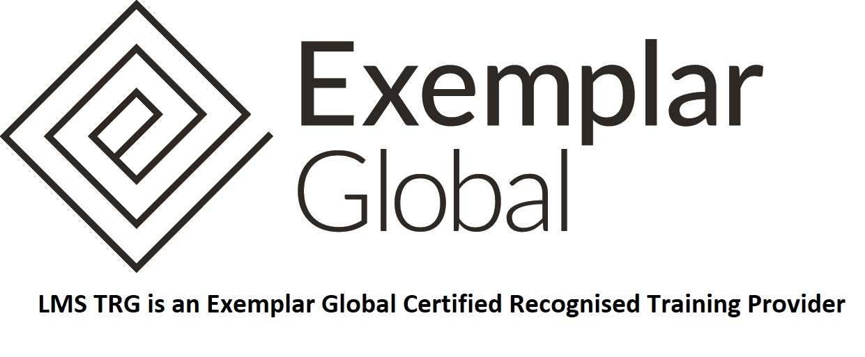 LMS TRG is an Exemplar Global Certified Recognised Training Provider