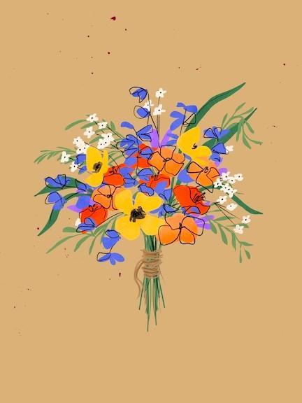 wildflower art