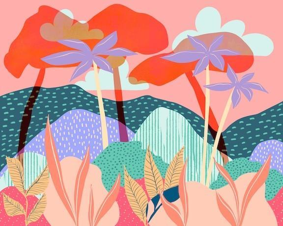 jungle artwork