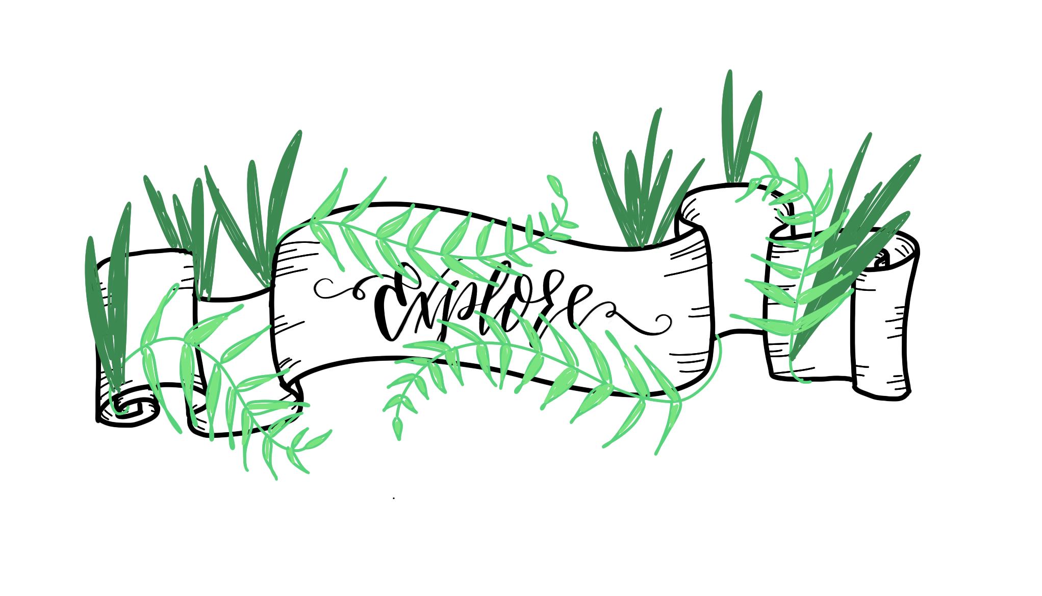 explore banner art