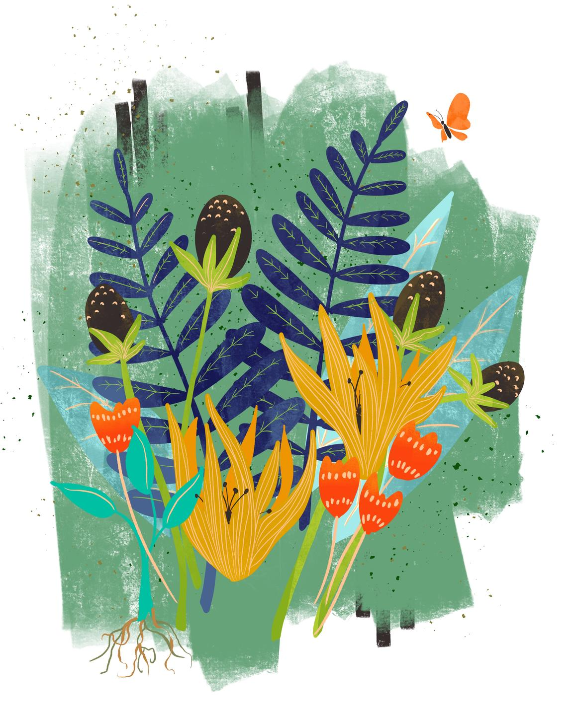 jungle art