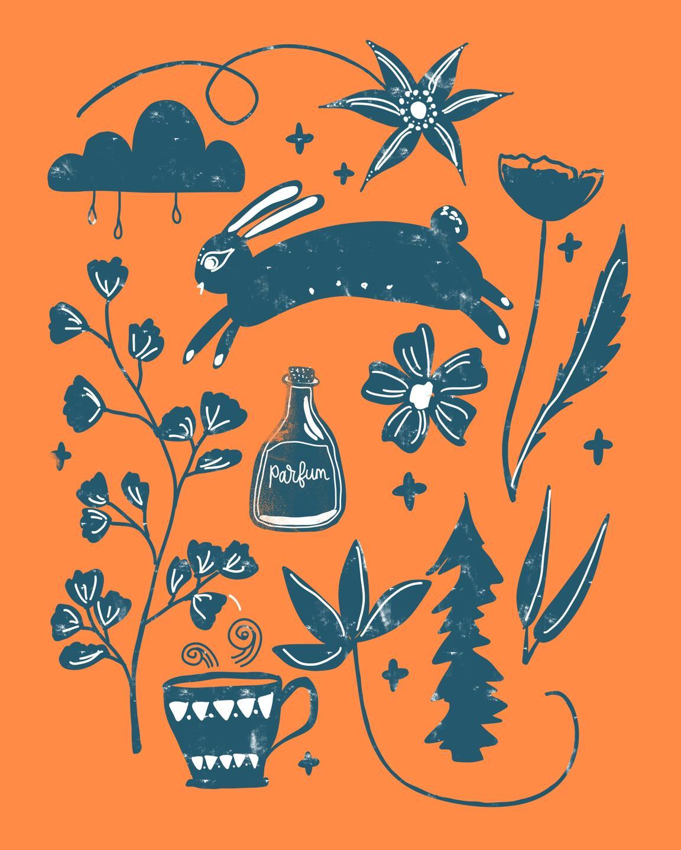 folk art illustration