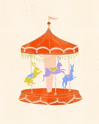 merry-go-round art