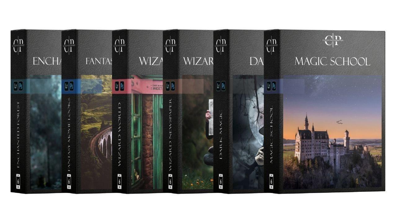 wizard photography preset bundle