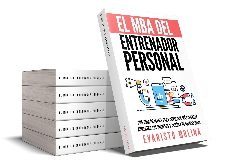 El MBA del entrenador personal, libro físico con tapa dura