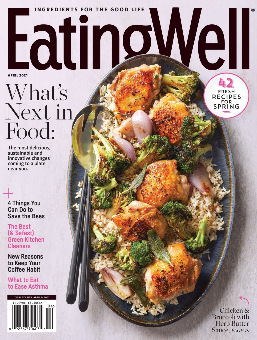 Eating Well Magazine April 2021