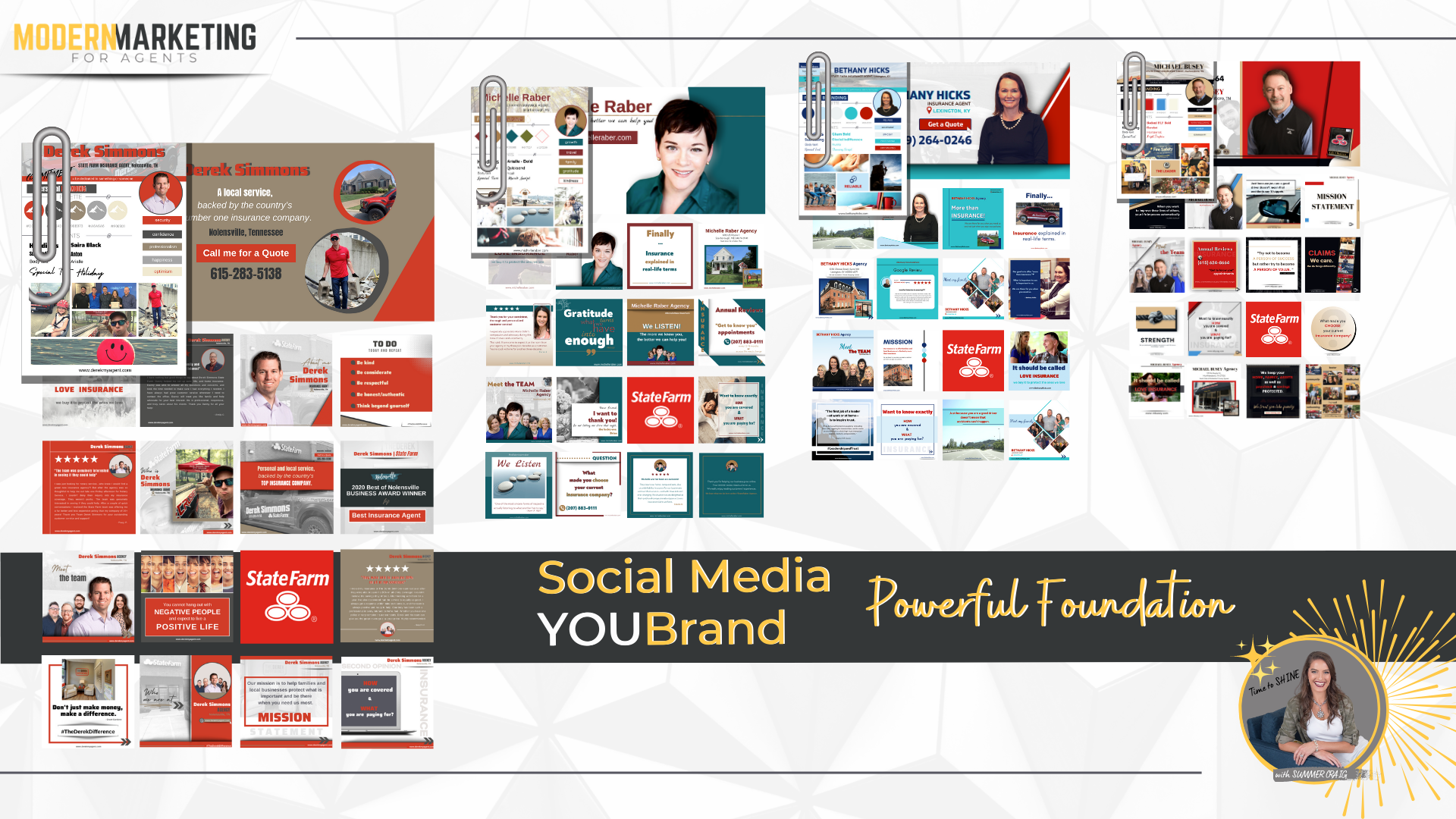 Elite Pro Modern Marketing Social Media Video Marketing Personal Branding