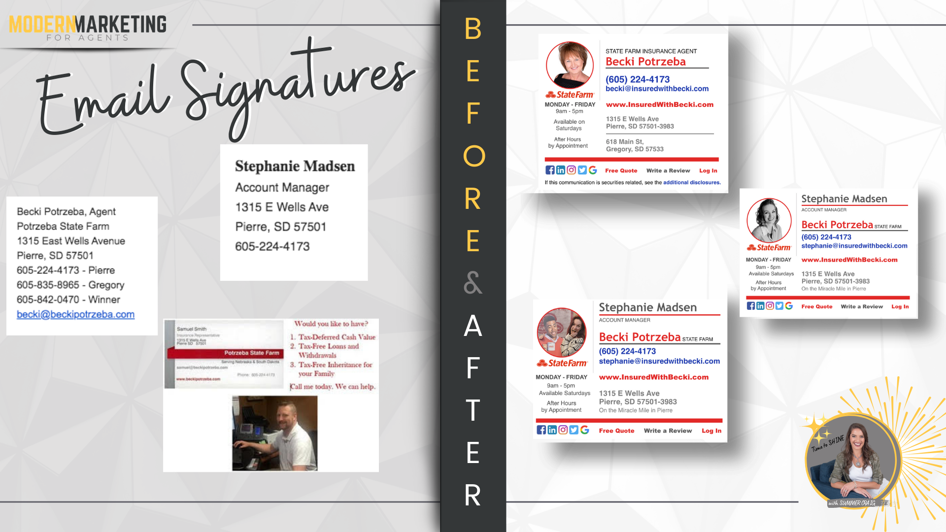 email signatures modern marketing