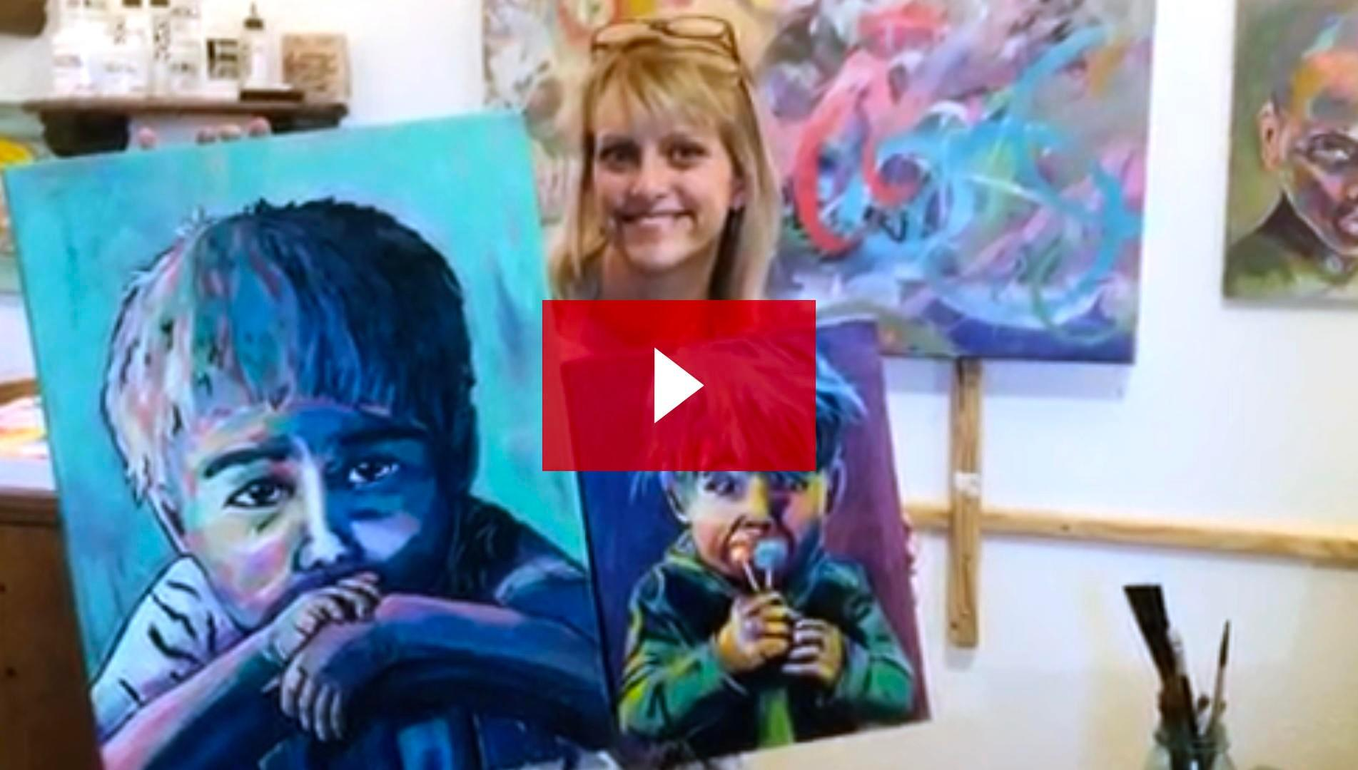 Bold School artist, Amy Shaw, talks about here experience