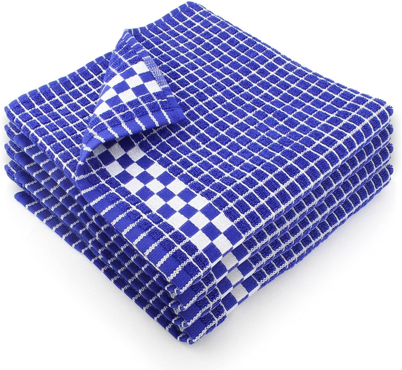 European dishtowels blue and white
