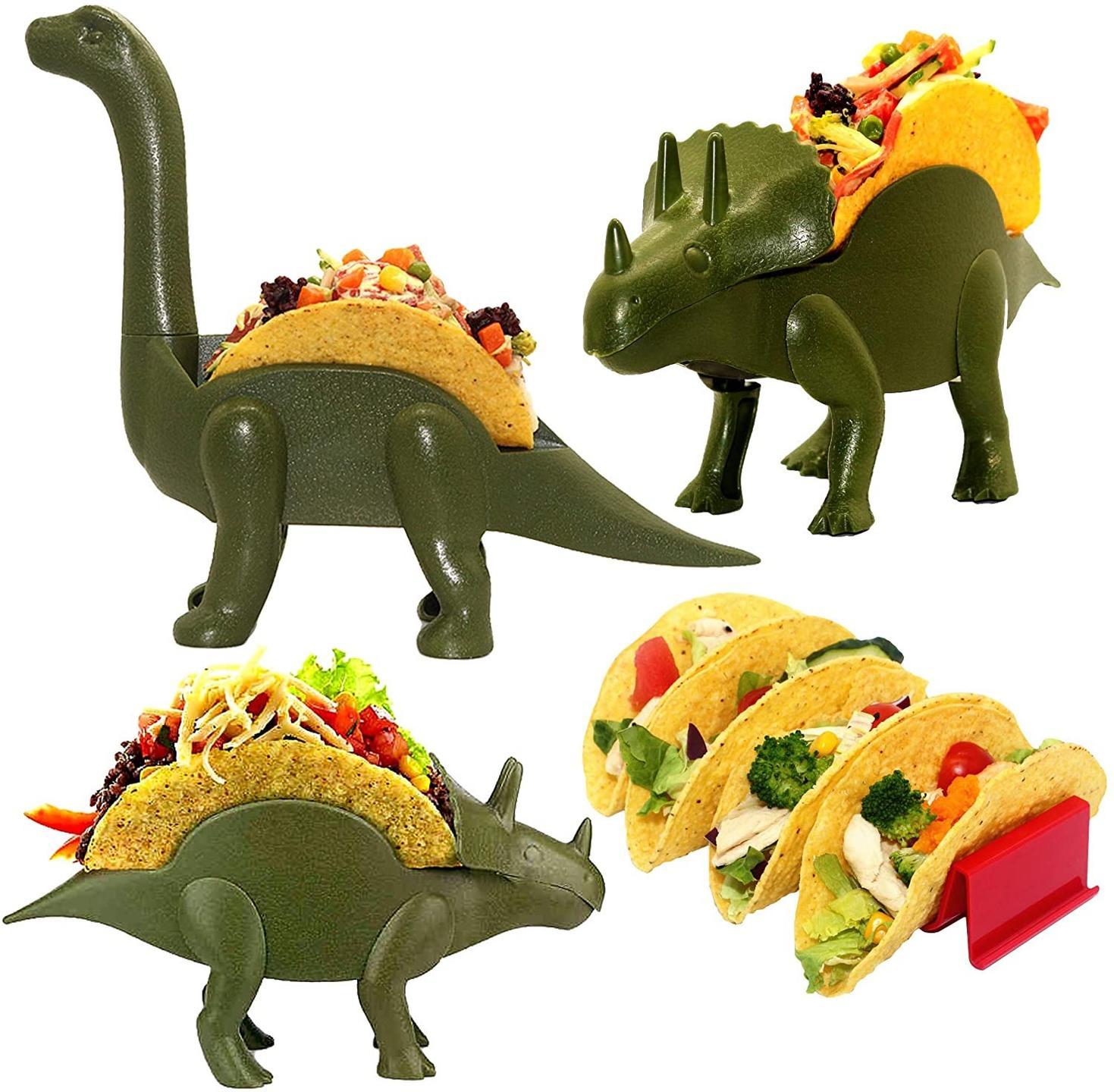 nachosaurus taco holder