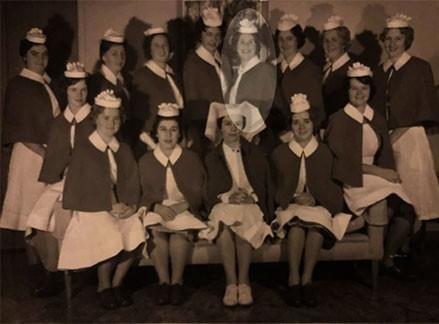 Dr Robyn Thompson Old Nurse Photo Footscray Hospital
