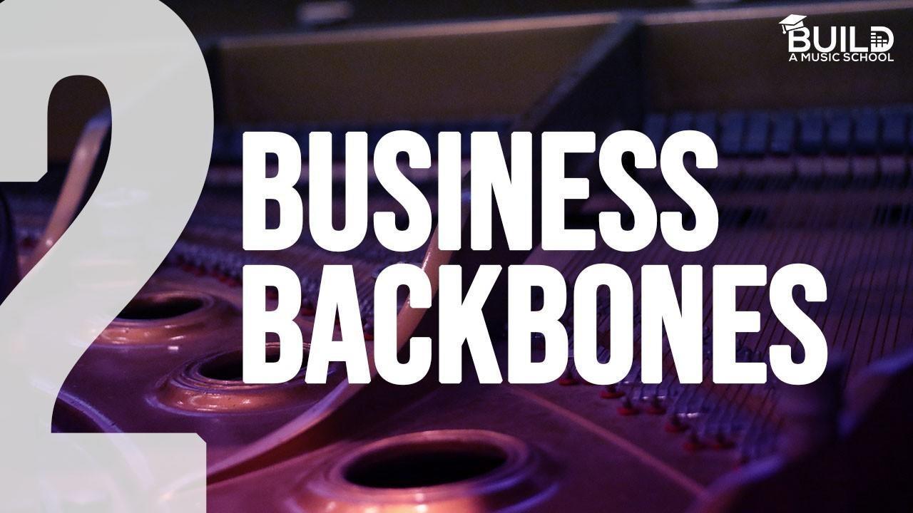 Music School, Music Academy Business Backbones. Business Model