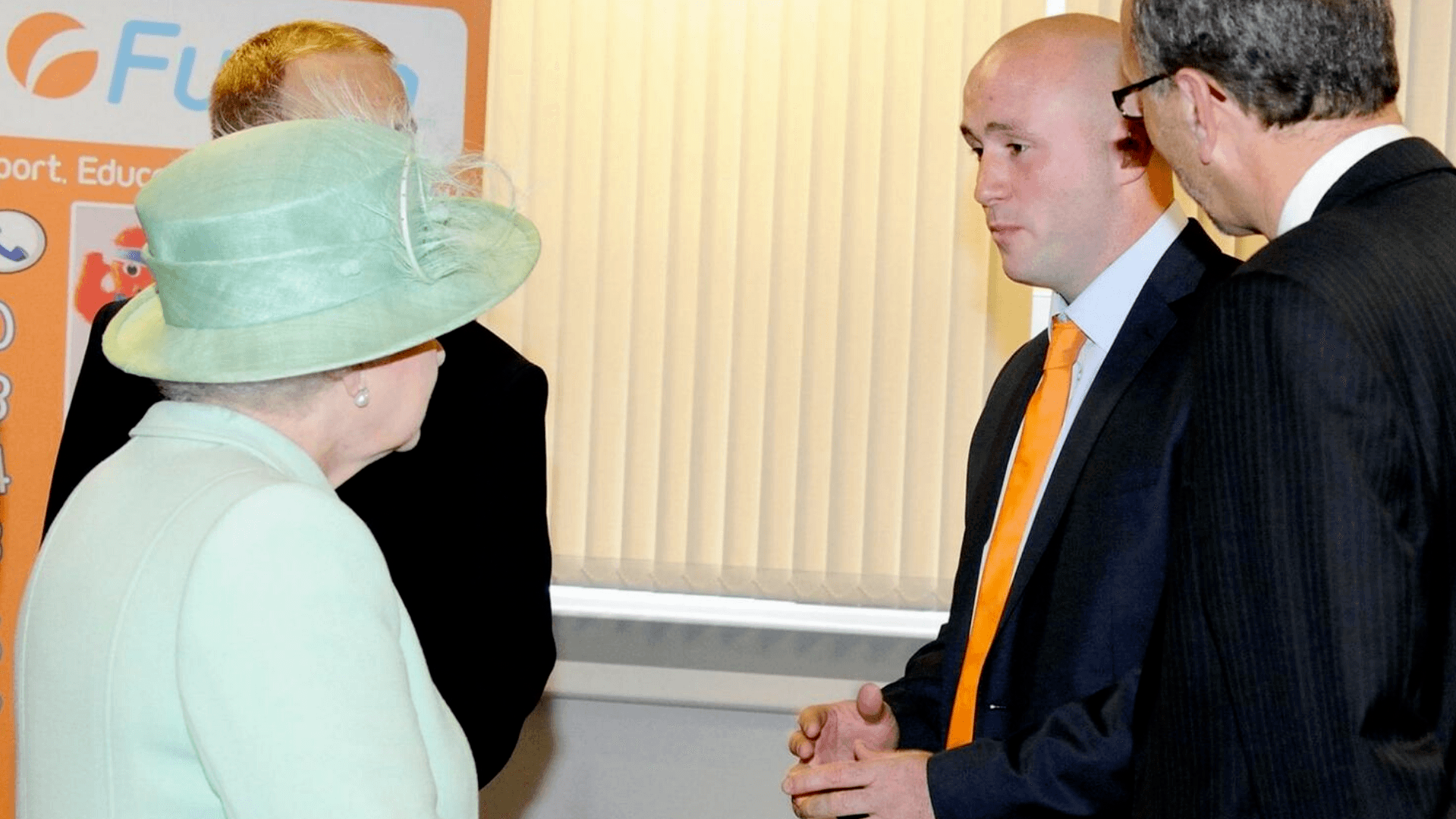 Kieran Fletcher Meeting HM The Queen