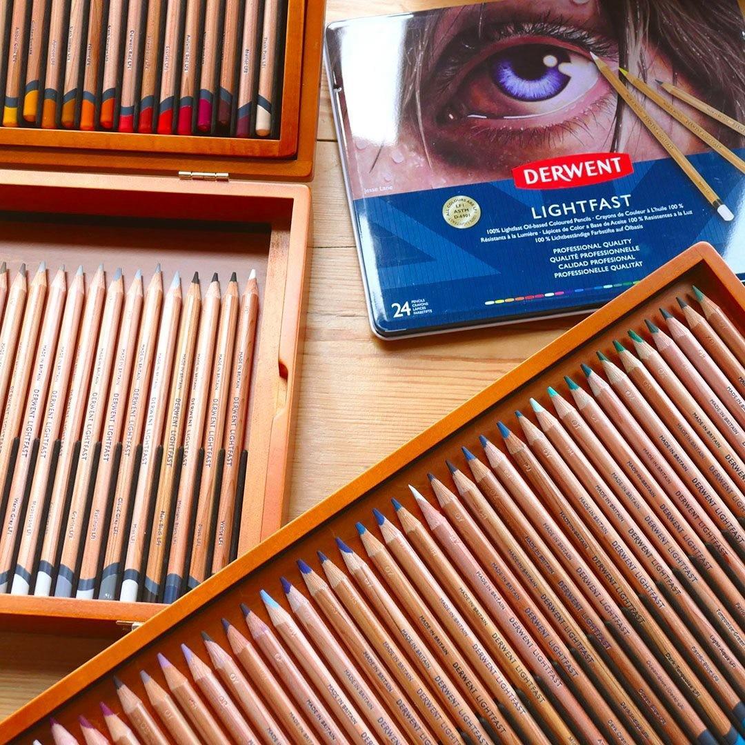 Derwent Lightfast Coloured Pencils