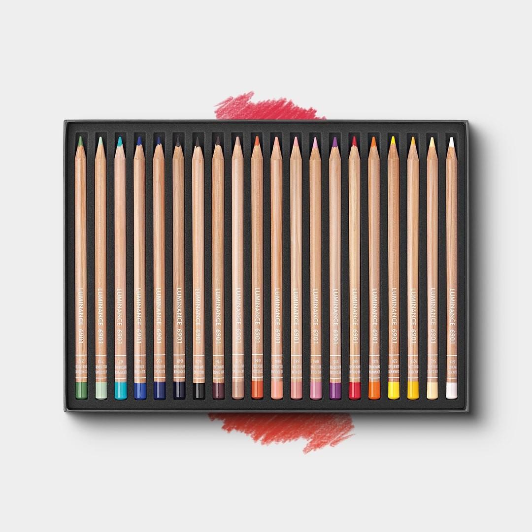 Caran d'Ache Luminance 6901 Coloured Pencils