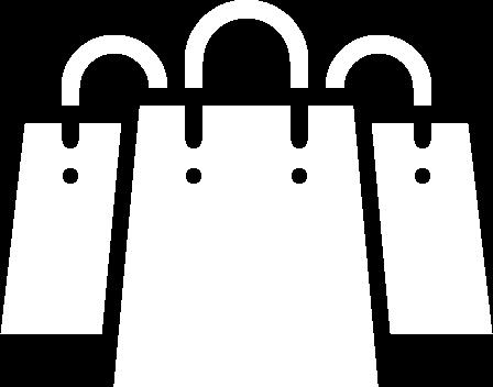 icone-sacola de compras-branco