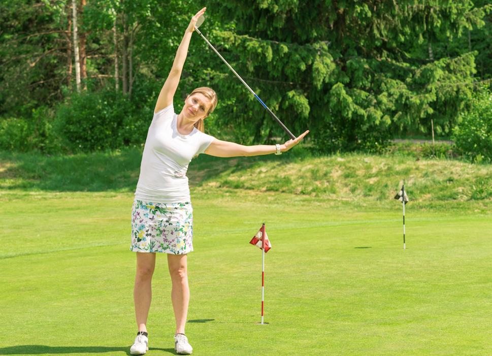 Golfjoogan opettaja Susanne Ropponen
