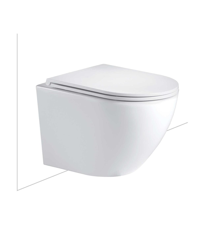 SEIMA ARKO WH FLAT SEAT TOILET