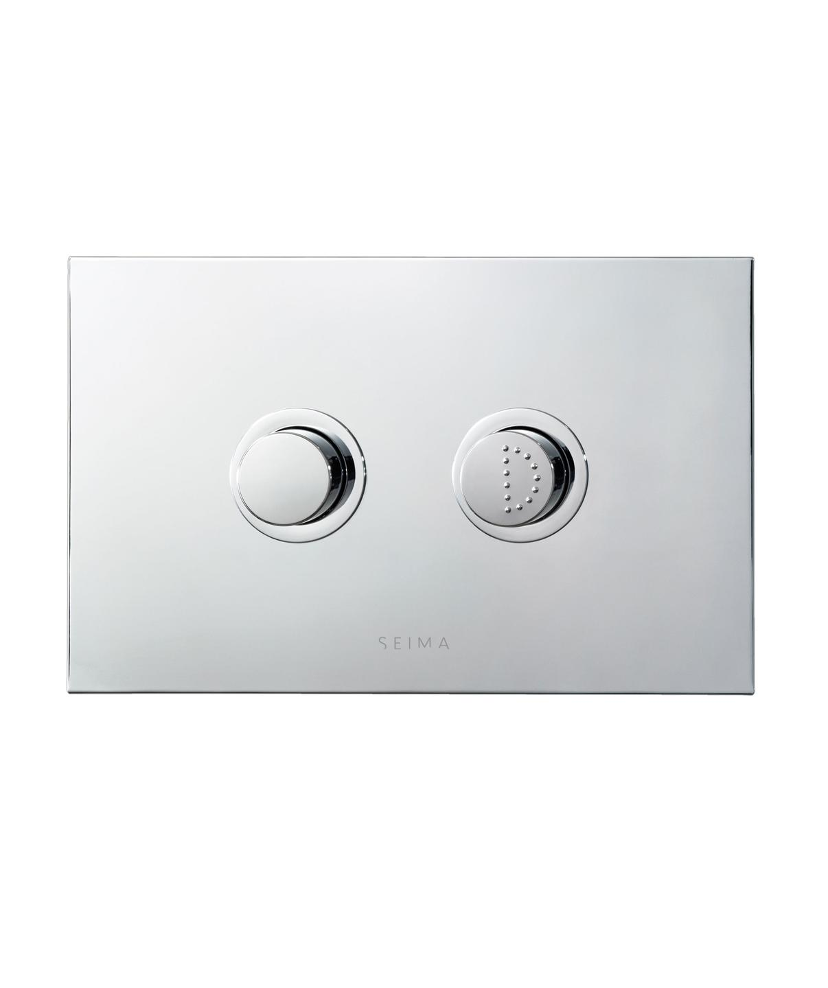 SEIMA INWALL FLUSH PLATE RAISED BUTTONS