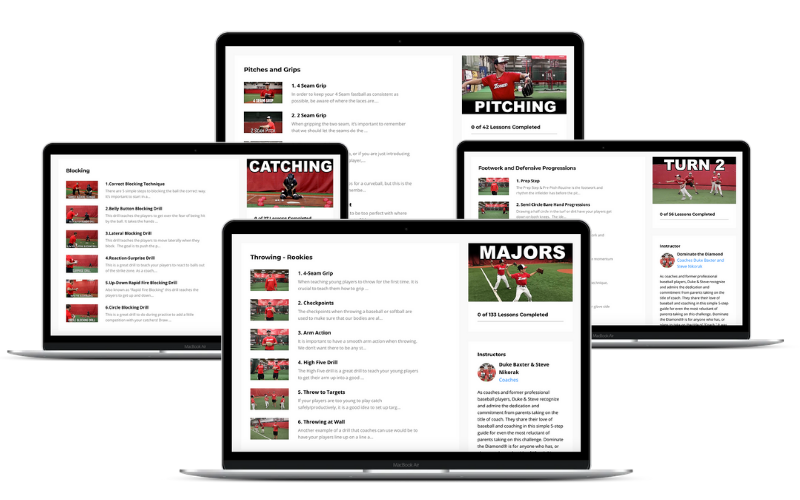 Entire Course Library with Over 450 Videos - Dominate the Diamond