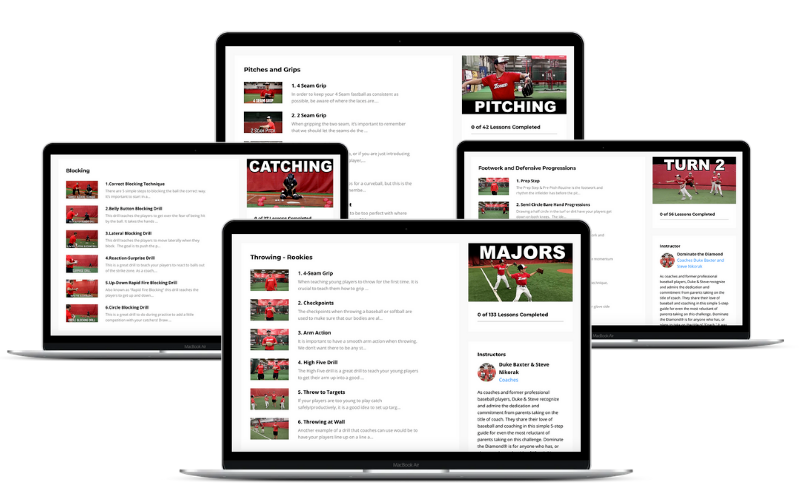 Entire Course Library with Over 450 Videos (Image 2) - Dominate the Diamond